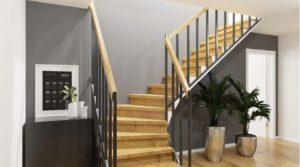 Kellertreppe-von-Haus-Falkensee-Immobilienmaklerbesichtigung